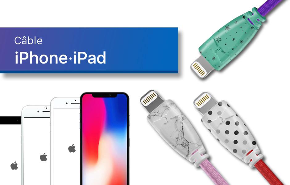 Câble iPhone iPad