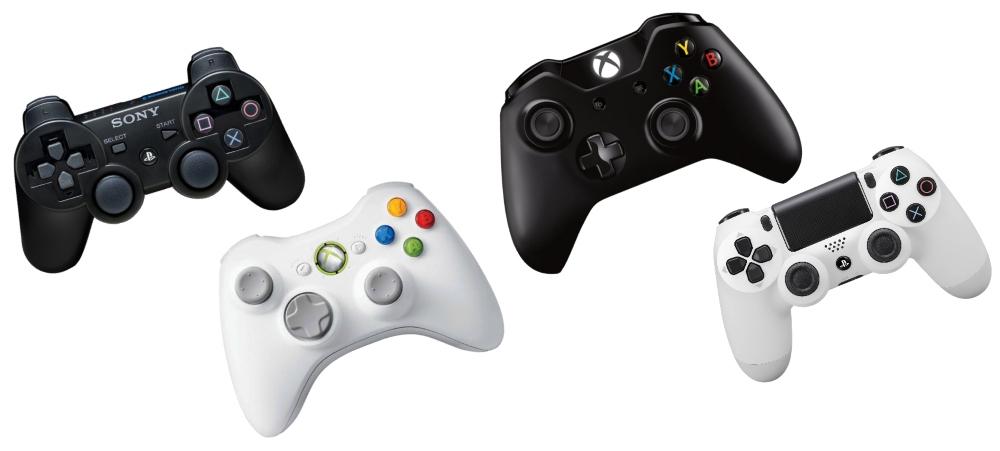 Manettes PS3 / PS4 / Xbox360 / XboxOne
