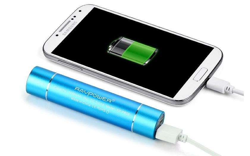 Batterie externe pour charger n'importe où !