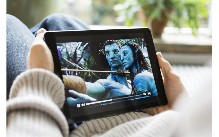 Film sur iPad