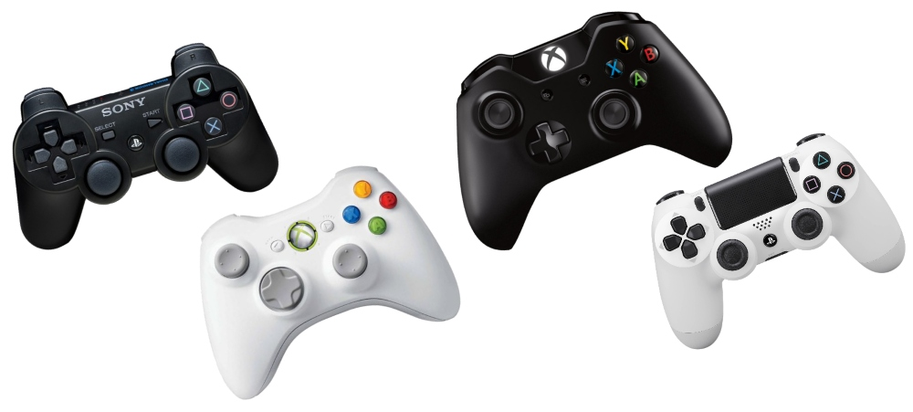 Manettes PS3 / PS4 / Xbox360 / XboxOne compatibles OTG