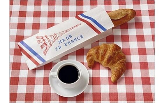 La baguette et le croissant Made in France