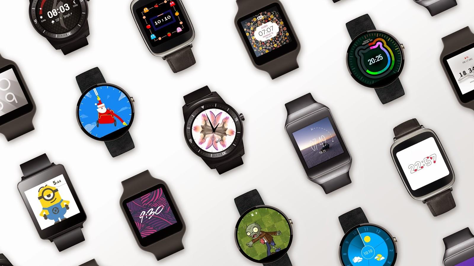 Toutes les montres connectées