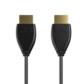 Câble HDMI Premium High Speed - HDMI 2.0 / 4K / HDR 1m Noir (sans marquage)