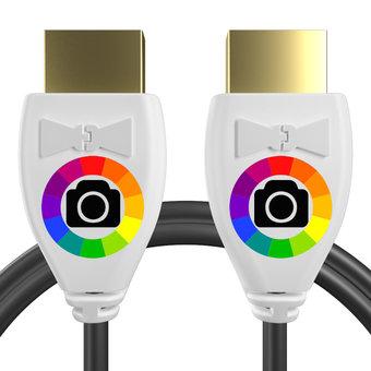 Personnalisez votre câble HDMI : couleurs, longueur et marquage des prises.