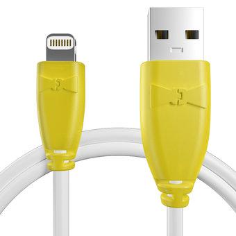 Câble pour Apple iPad mini Jaune et Blanc - 50cm