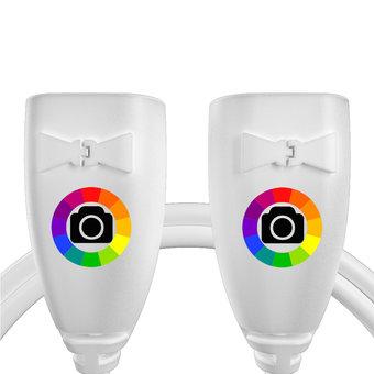 Personnalisez votre câble usb (femelle / femelle) : couleurs, longueur et marquage des prises.