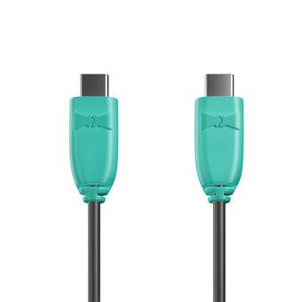 Câble USB Type C vers C 1m Bluemint et Noir (marquage image «bestdadinthegalaxy»)