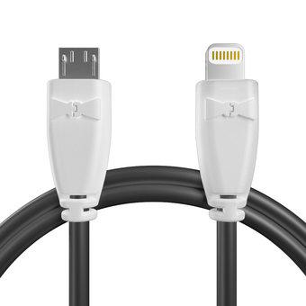 Câble pour DJI Spark Blanc et Noir - 20cm